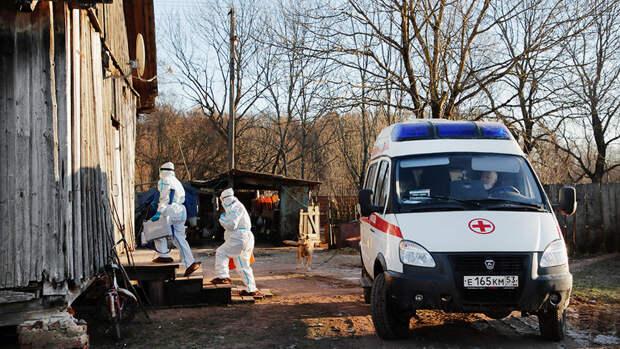 ВРоссии выявили 8 840 новых случаев коронавируса