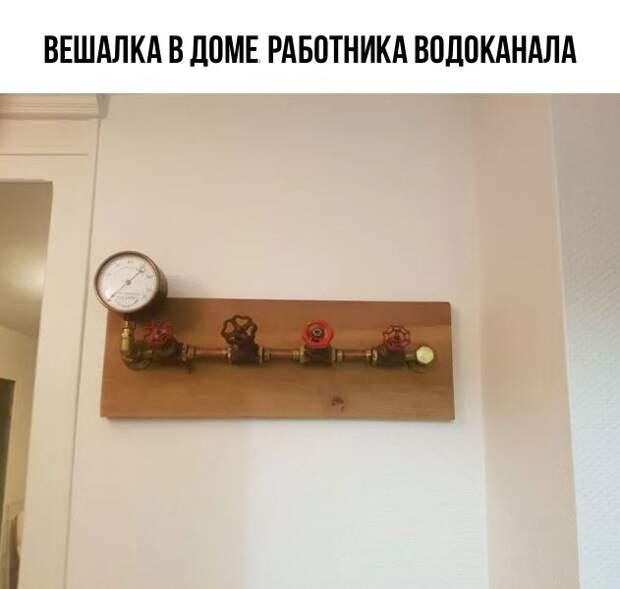 Вешалка с барометром