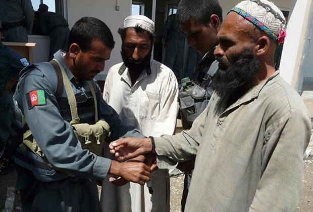 Задержание талиба
