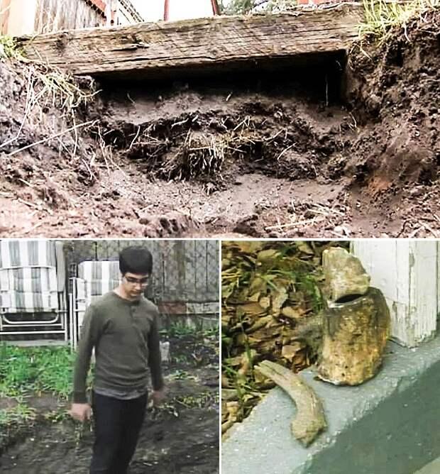 10 самых неожиданных находок, которые люди обнаружили у себя во дворе