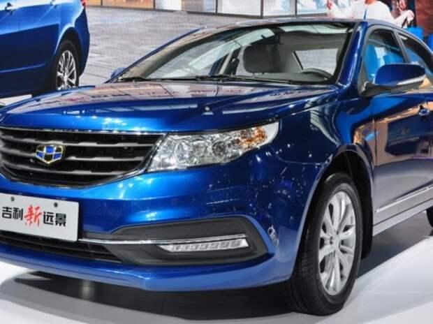 Обновленный седан Geely GC7 показали в Гуанчжоу