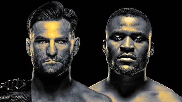 Нганну отобрал у Миочича титул UFC, нокаутировав американца во 2-м раунде