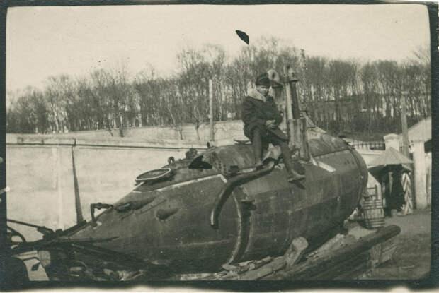 останки подводной лодки Форель