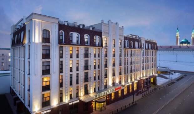 Ближайший кКазанскому Кремлю отель продают за762млн рублей