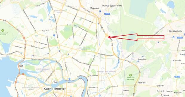 Движение на КАД между Пискаревским и Шафировским проспектами перекроют