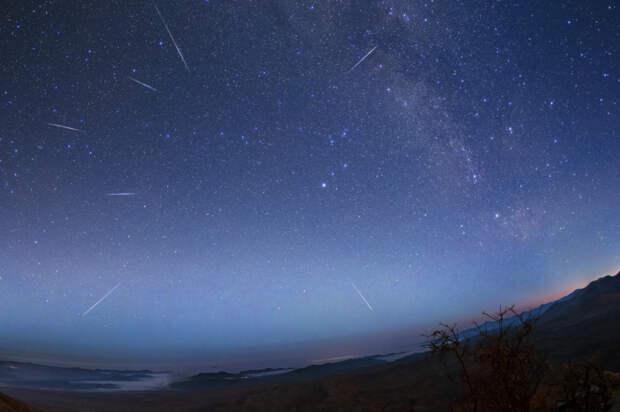 Даже без бинокля: жители Удмуртии смогут увидеть метеорный поток Лириды