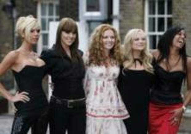 Spice Girls отправятся в новый тур
