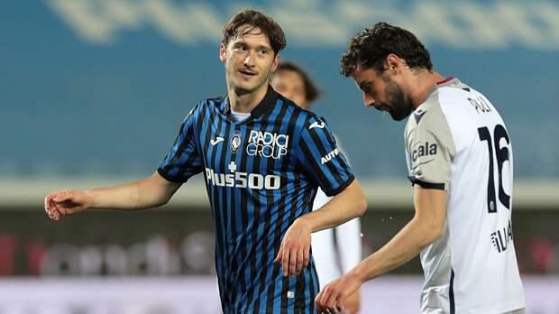 «Аталанта» разгромила «Болонью» и поднялась на 2-е место в Серии А. Миранчук забил гол после выхода на замену
