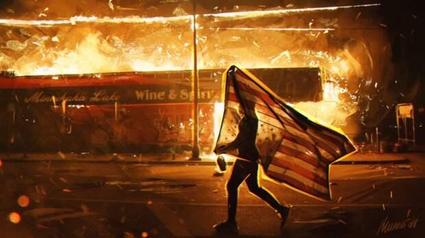 Методичка «цветных революций» в США: хватит ли у Трампа смелости подавить восстание