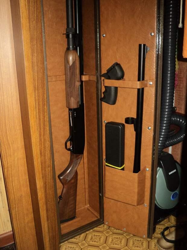 Оружейный сейф: требования, виды, установка