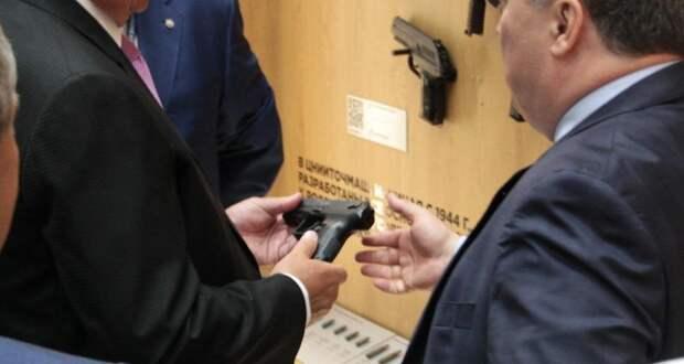 Бесшумный пистолет для спецназа показали публике