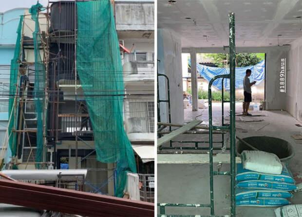 Впечатляющая реконструкция старого здания в Таиланде