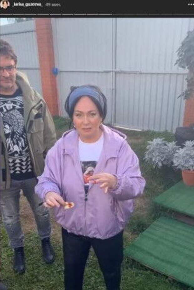 Лариса Гузеева докрови травмировалась насъемочной площадке