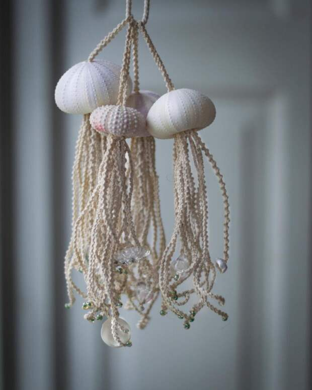Макраме медузы Anna & Monica frostadesign