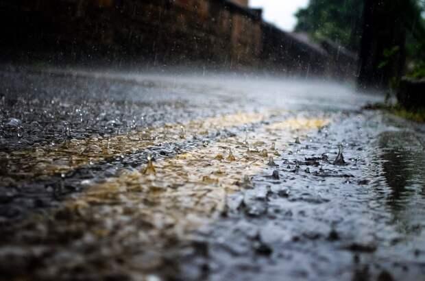 Дождь, Капли Дождя, Сезоны, Воды, Макрос, Дороги, Пути