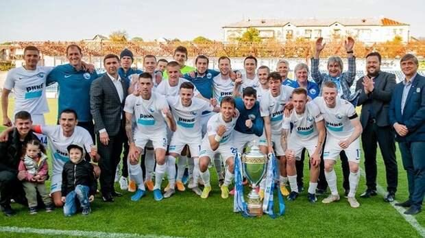 Стал известен досрочный победитель Чемпионата Крыма по футболу
