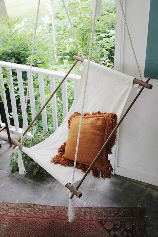 Подвесное кресло своими руками (DIY)