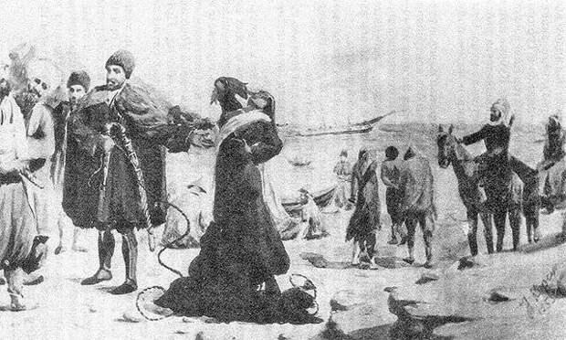 Расцвет и закат работорговли на Черноморском побережье Кавказа. Часть 1