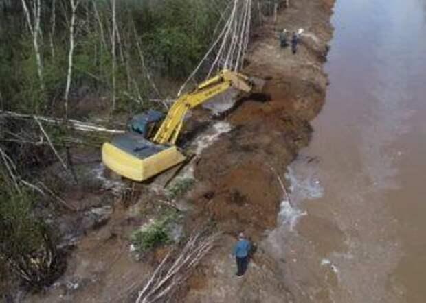 Дождевой паводок подтопил более 60 подворий в Приамурье