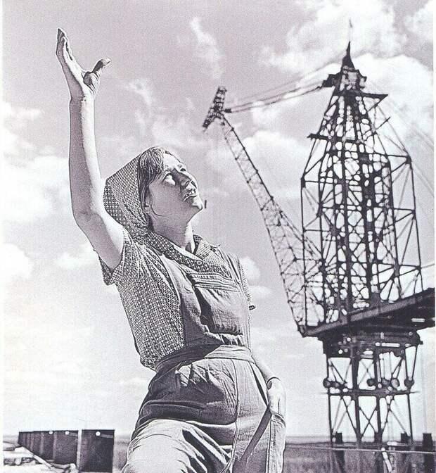 Рабочая краса или как выглядели рабочие девушки, женщины в СССР