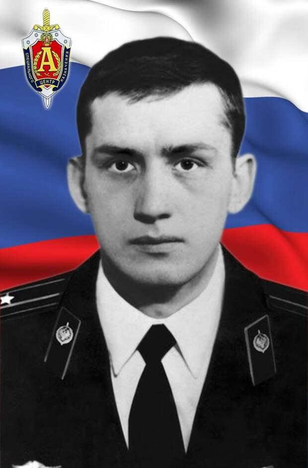 Майор СОЛОВОВ Владимир Викторович