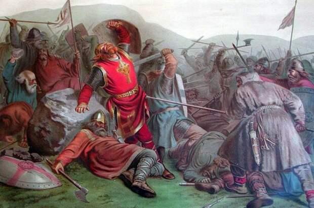 Последний бой Олафа Святого