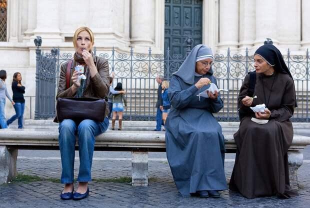 Кадр из фильма«Ешь, молись, люби», 2010