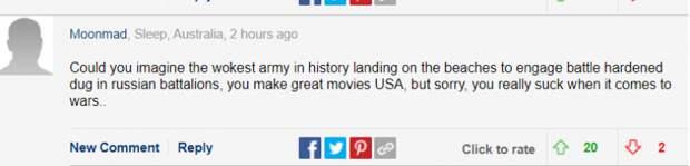 Читатели британских СМИ посмеялись над США после угроз Госдепа в адрес России