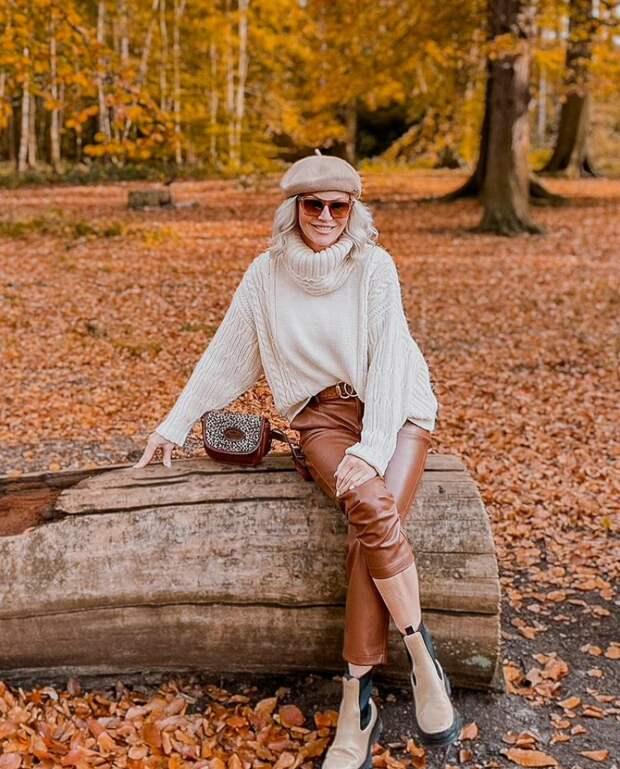 Объемный свитер - тренд сезона: как носить большой свитер и выглядеть в нем стильно