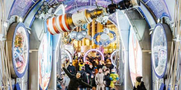Фестиваль «Путешествие в Рождество» в Москве будет проходить до конца каникул. Фото: mos.ru