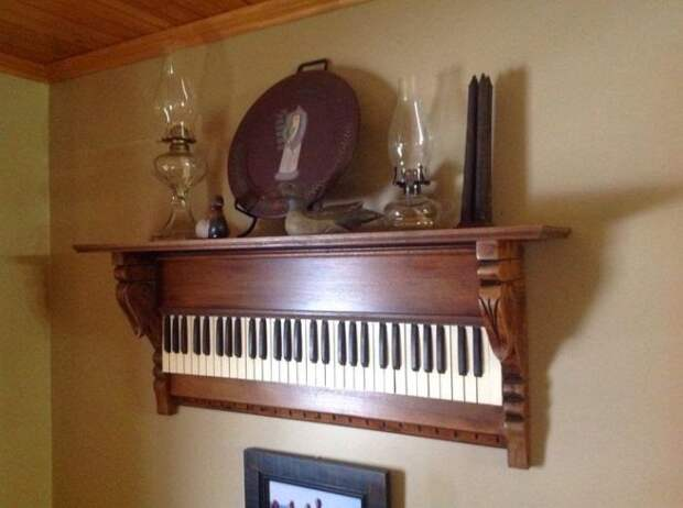 Полка-пианино