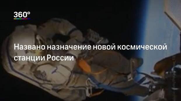 Названо назначение новой космической станции России