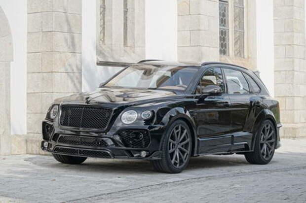 По-немецки: Bentley Bentayga экспериментирует с имиджем