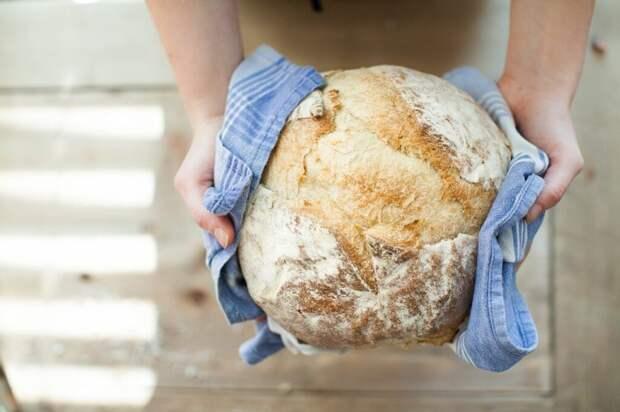 Бездрожжевой хлеб на кефире: простой рецепт