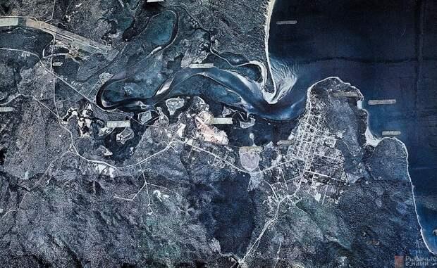 Вид Австралии в районе города Кэрнс.