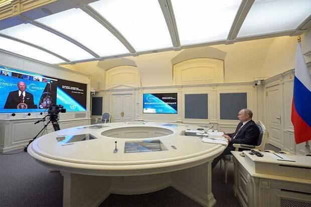 Байден остался доволен выступлением Путина на климатическом саммите