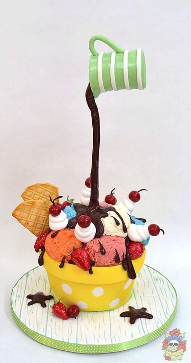 Слишком крутые торты, чтобы быть съеденными