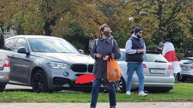 Макс Корж пришел на марш оппозиции в Минске