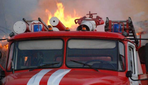 Дачный дом вспыхнул под Петрозаводском