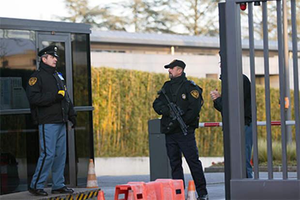 На борту российского самолета в Женеве задержан предполагаемый террорист
