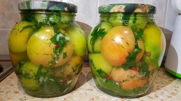 50 банок будет мало: Зеленые помидоры по-кавказски, которые понравятся всем