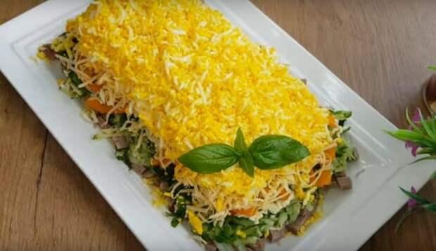 Салат Идеал. Мясной салат, который достойно заменит пресловутый Оливье 2