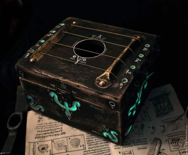 Загадочная шкатулка с сюрпризом