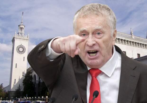 Жириновский насмешил депутатов Госдумы, нелестно отозвавшись о южанах