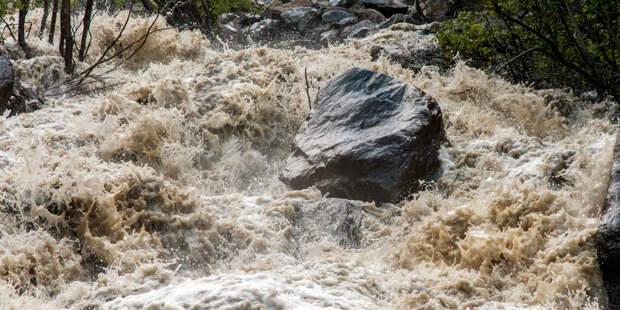 Селевой поток унес пасшего скот ребенка на юге Кыргызстана