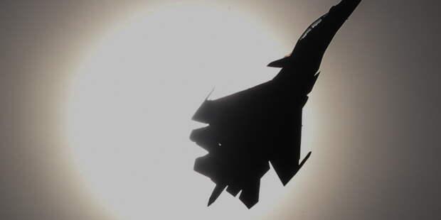 Истребитель Су-30СМ разбился в Казахстане