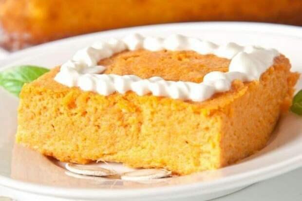Морковно-творожный пудинг. Идеальный десерт для тех, кто следит за весом 2