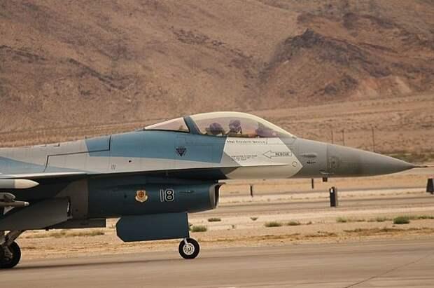 В США потерпел крушение военный самолёт