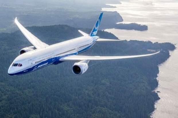 Boeing 787-9, демонстрационный полёт