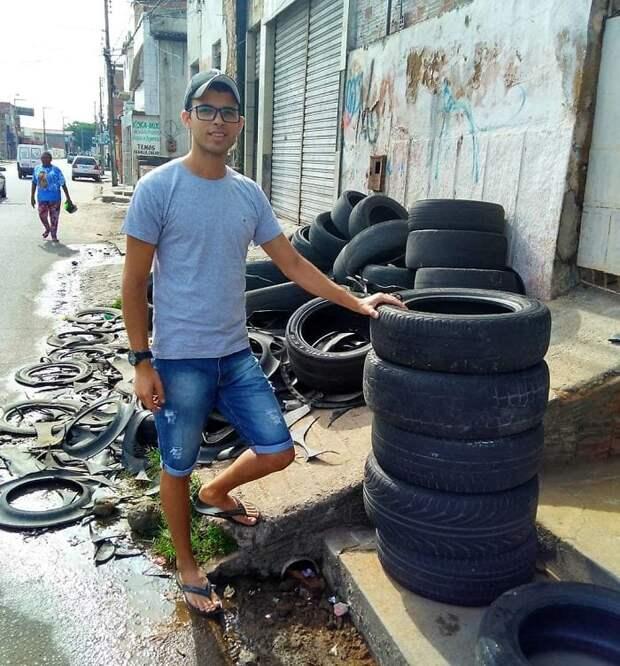 Мастер на все руки, который решил проблему мусора на улицах уникальным способом